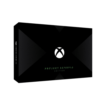 Xbox One X Project Scorpio エディション