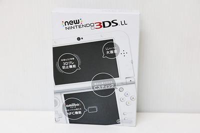 Nintendo New ニンテンドー 3DS LL パールホワイト RED-001  中古買取価格 10,000円