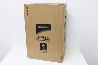 SHARP シャープ KC-F50-W 加湿空気清浄機 | 中古買取価格 7,500円