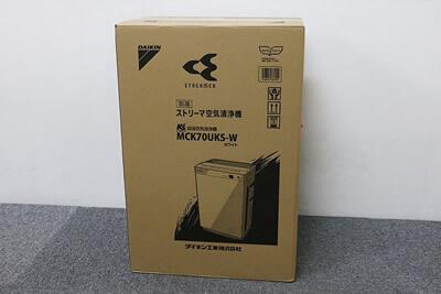 【買取実績】DAIKIN ダイキン MCK70UKS-W ストリーマ空気清浄機 ケーズデンキオリジナルモデル | 中古買取価格30,000円