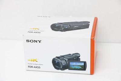 【買取実績】SONY FDR-AX55 Handycam デジタルビデオカメラ 液晶保護シート付き | 中古買取価格63,000円