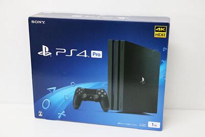 【買取実績】SONY PlayStation4 Pro 1TB CUH-7100BB01 | 中古買取価格36,000円