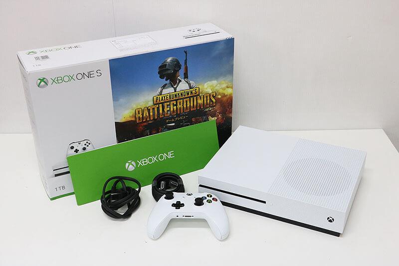 【買取実績】Microsoft マイクロソフト Xbox One S 1TB PlayerUnknown's Battlegrounds 同梱版 234-00316 | 中古買取価格12,000円