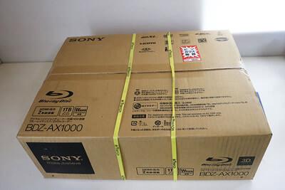 【買取実績】SONY  BDZ-AX-1000 ブルーレイディスクレコーダー | 中古買取価格30,000円