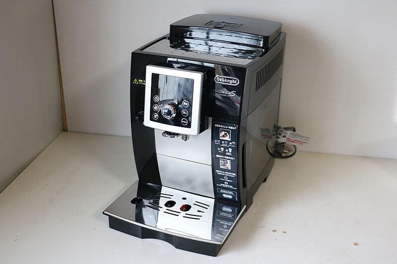 【買取実績】デロンギ マグニフィカS カプチーノ スマート コンパクト全自動コーヒーマシン ECAM23260SBN|中古買取価格47,000円