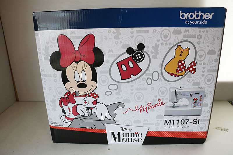 【買取実績】brother at your side M1107-SI コンピューターミシン Disner Minnie Maouse|中古買取価格19,000円