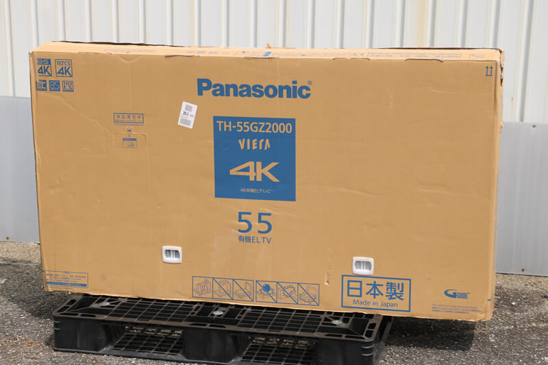 【買取実績】Panasonic パナソニック ビエラ 4K有機ELテレビ TH-55GZ2000 55V型|中古買取価格153,000円