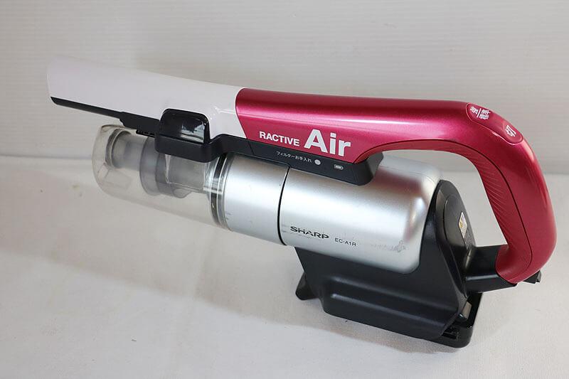 【買取実績】SHARP シャープ EC-A1R コードレスサイクロン掃除機 中古並品 中古買取価格4,000円