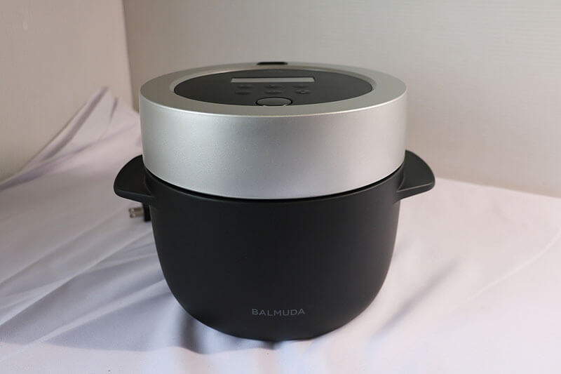 【買取実績】BALMUDA 電気炊飯器 K03A-BK|中古買取価格11,000円