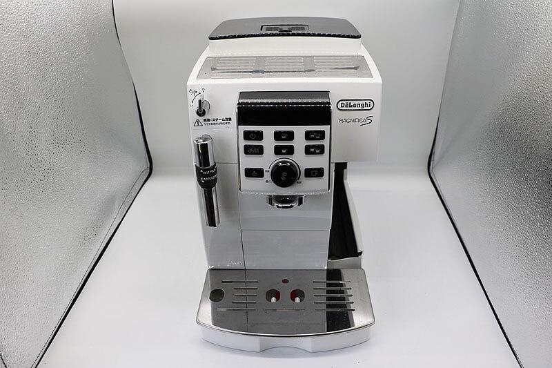 デロンギ マグニフィカS コンパクト全自動エスプレッソマシン ECAM23120WN|中古買取価格26,000円