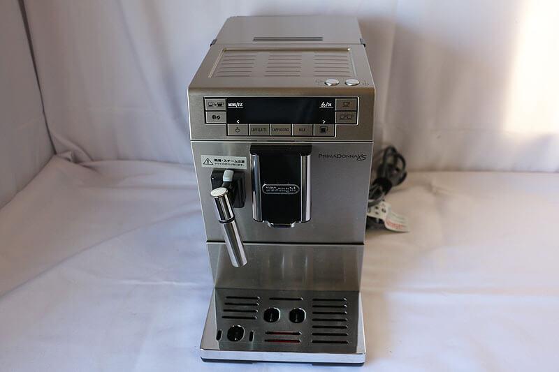 【買取実績】DeLonghi デロンギ プリマドンナXS コンパクト全自動コーヒーマシン ETAM36365|中古買取価格48,000円