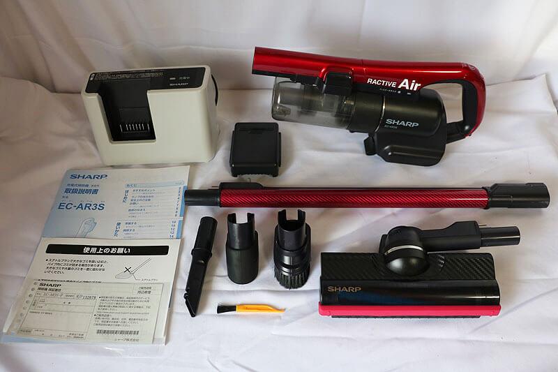 【買取実績】シャープ SHARP EC-AR3S-P コードレススティック掃除機 2020年製 中古買取価格6,000円