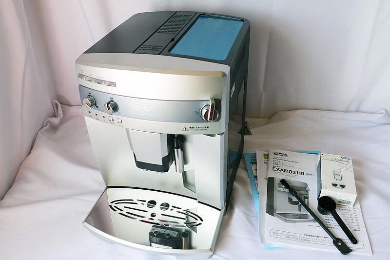 【買取実績】DeLonghi デロンギ 全自動エスプレッソマシン マグニフィカ ESAM03110S|中古買取価格16,000円