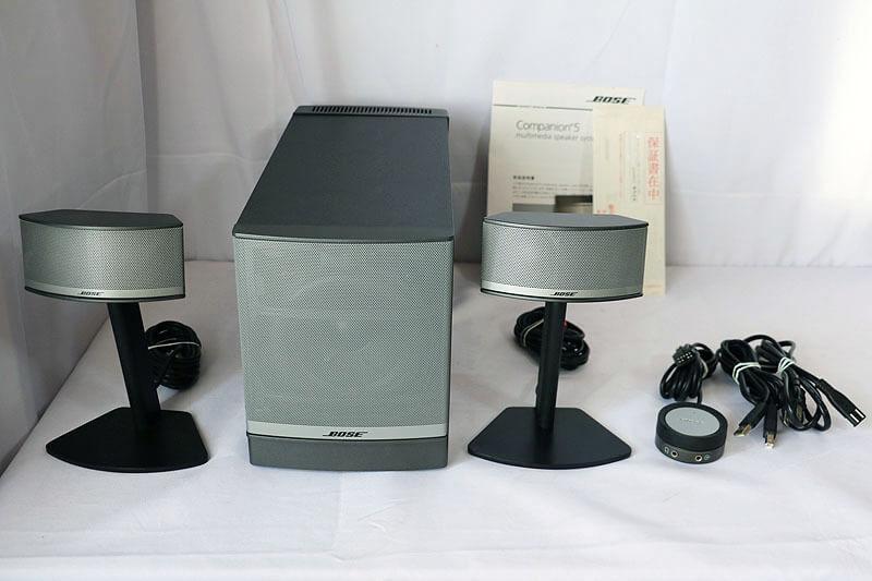 【買取実績】BOSE  Companion 5 Multimedia Speaker SYS|中古買取価格8,000円